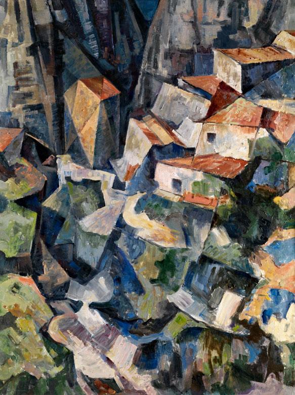 † Kubistischer Maler aus dem Bauhauskreis um 1930