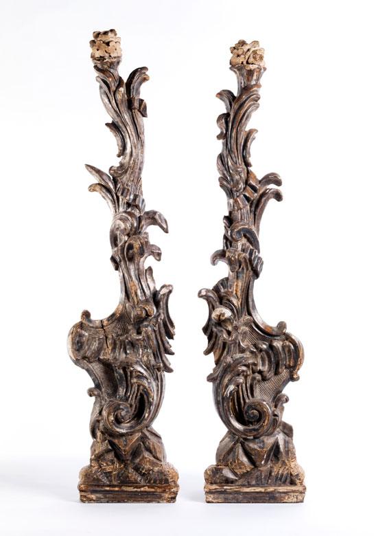 Paar Rokoko-Zierlisenen