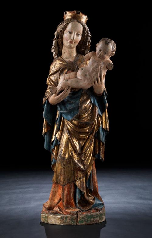 Museale Salzburger Madonna