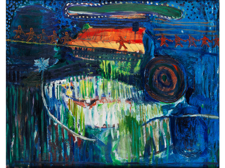 Harald Gratz, Maler der Moderne