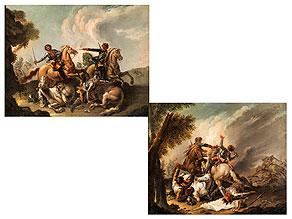 Francesco Casanova,  1727 London - 1802 Vorderbrühl bei Mödling, Österreich