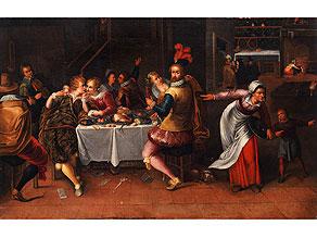 Detailabbildung: Flämische Schule des 17. Jahrhunderts, Umkreis Frans Francken