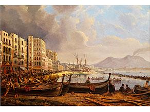P. van Loon, Vedutenmaler des 19. Jahrhunderts