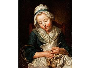 Jean-Baptiste Greuze,  1725 Tournus - 1805 Paris, Werkstatt