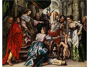 Detail images:  Jean Thomas d'Ypres, 1617 Ypres - 1678 Vienne Schüler von Peter Paul Rubens