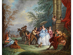 Jean-Baptiste Pater, 1695 Valenciennes - 1736 Paris