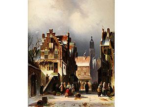 Detail images:  Charles Leickert, 1816 Brüssel - 1907 Mainz