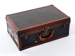 Detail images:  Louis Vuitton-Koffer