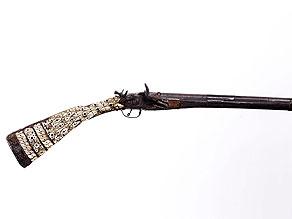 Detail images:  Orientalisches Steinschlossgewehr