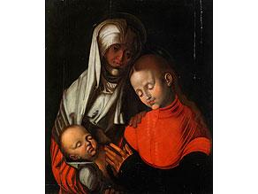 Detail images:  Deutscher Maler der Dürer-Nachfolge des ausgehenden 16. Jahrhunderts