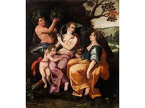 Detail images:  Italienischer Maler des 17. Jahrhunderts
