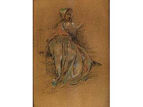 Detail images:  Antoine Calbet, 1860 - 1944