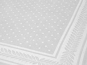 Detail images:  Neoklassizistische Tafelgarnitur mit zwölf Mundtüchern