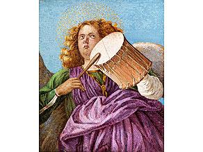 Detail images:  Seltenes Mikromosaikbild von Chiaserotti