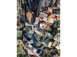 Detail images:  † Kubistischer Maler aus dem Bauhauskreis um 1930