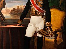 Detail images: Guiseppe (Joseph) Bezzuoli, 1784 Florenz - 1855