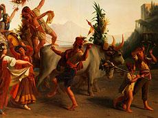 Detail images: Maler des 19. Jahrhunderts nach Léopold-Louis Robert, 1794 - 1835