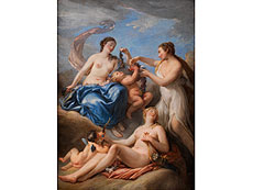 Detail images: Nicolas-René Jollain, 1732 Paris - 1804, zug.