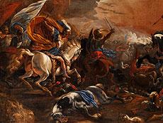 Detail images: Vincent Adriaensz, Il Manciola, 1595 - 1675, zug.
