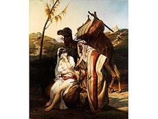 Detailabbildung: Émile Jean Horace Vernet, 1789 Paris - 1863