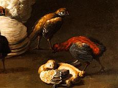Detail images: Melchior de Hondecoeter, 1636 Utrecht - 1695 Amsterdam, zug.