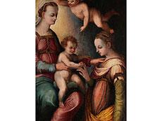 Detail images: Guglielmo Caccia, Il Moncalvo, 1568 - 1625, zug.,