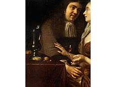 Detail images: Frans van Mieris d. Ä., 1635 - 1681