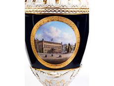 Detail images: † Berliner KPM-Vase