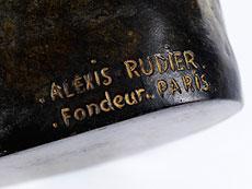 Detail images: Auguste Rodin, 1840 Paris - 1917 Meudon