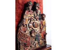 Detail images: Flämischer Bildschnitzer um 1500