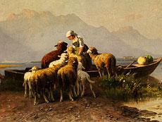 Detailabbildung: Christian Friedrich Mali, 1832 Broekhuizen - 1906 München