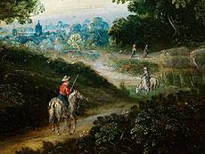 Detail images: Jan Brueghel, 1568 - 1625, Umkreis/ Nachfolge des