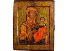 Detail images: Ikone Gottesmutter Hodegitria