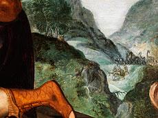 Detail images: Frans Floris, 1519 Antwerpen - 1570, zug.
