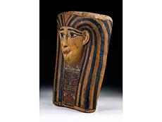 Detail images: Ägyptische Mumienmaske