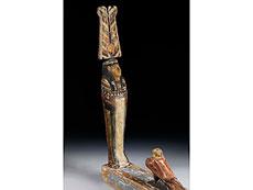 Detail images: Statue des Gottes Ptah-Sokar-Osiris