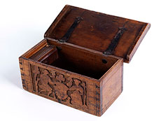 Detail images: Renaissance-Minnekästchen