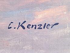 Detail images: Carl Kenzler, Künstler des 19./ 20. Jahrhundert.