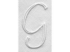 Detail images: Paar Tafeltücher mit prächtigem Chrysanthemenoval
