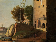 Detail images: Paolo Anesi, ca. 1700 Rom - ca. 1761, zug.