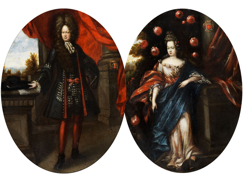 Lombardischer Hofportraitist des 17. Jahrhunderts