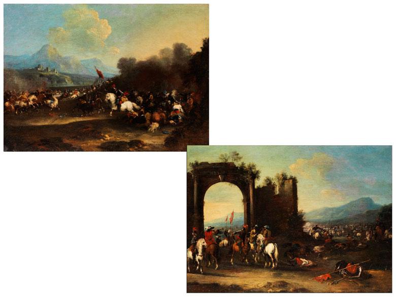 Pandolfo Reschi, 1643 Danzig - 1693 Florenz, zug.