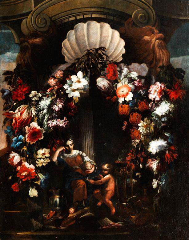 Gasparo Lopez, 1650 Neapel - 1732 Florenz, zug.