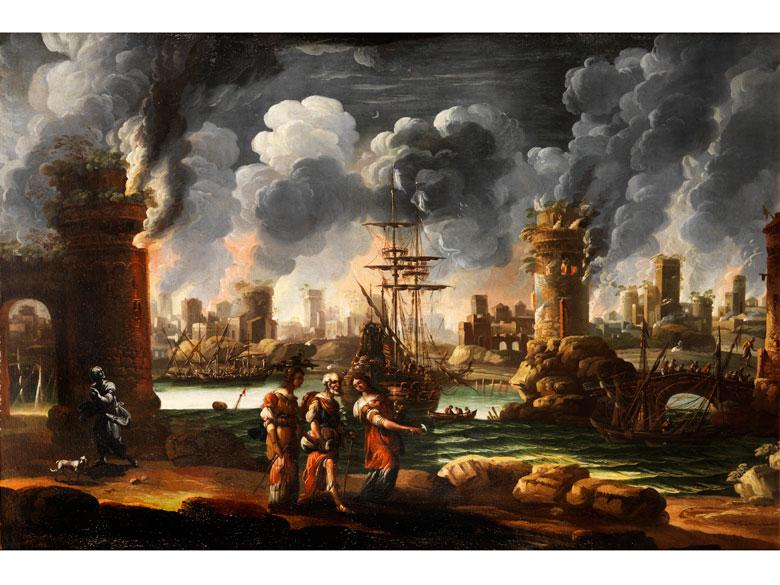 Marzio Masturzio, Italienischer Maler des 17. Jahrhunderts, zug.