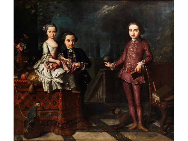 Giuseppe Bonito, 1707 Castellammare - 1789 Neapel, zug. Schüler von Solimena