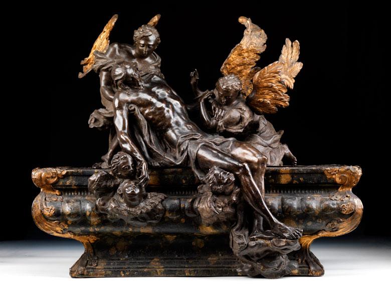 Massimiliano Soldani, 1656 - 1740 Florenz, zug.