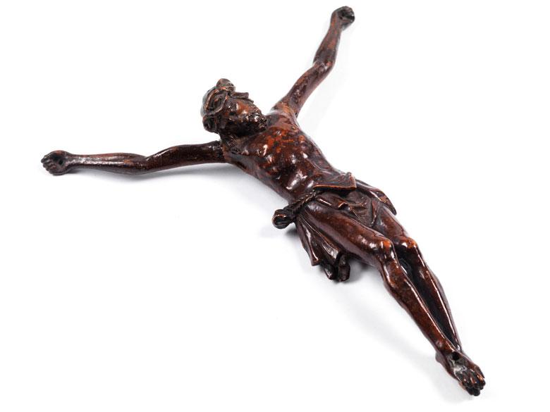 Corpus Christi, in Buchsbaum geschnitzt