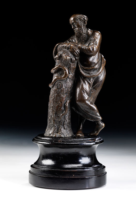 Bronzefigur des Asklepios