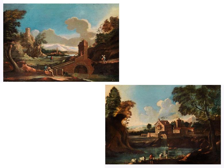 Italienischer Maler des 18. Jahrhunderts in der Stilnachfolge des Marco Ricci