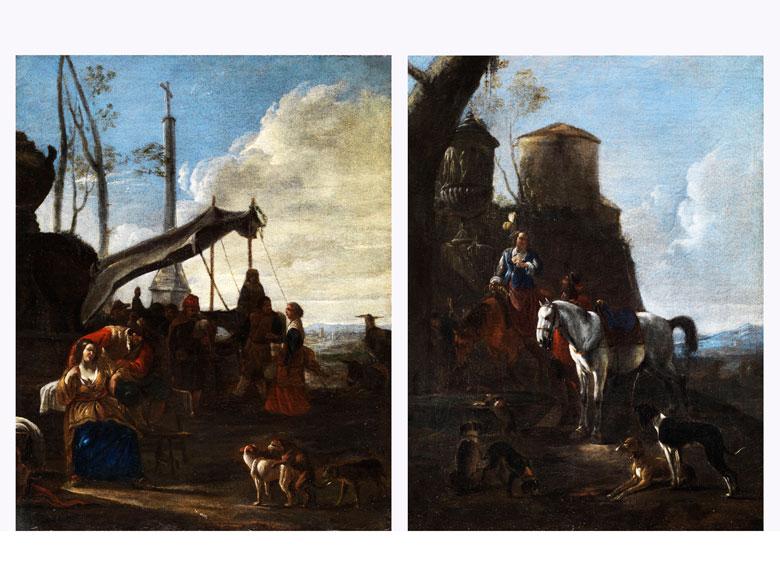 Meister im Umkreis von Pieter van Laer